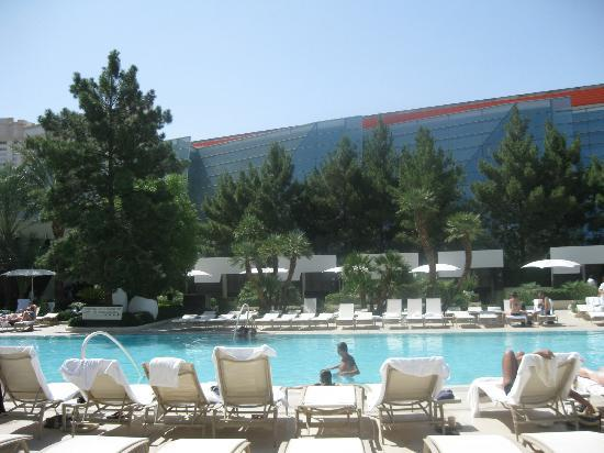 ARIA Sky Suites: pool view