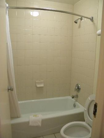 Quality Inn at Town Center : Shower