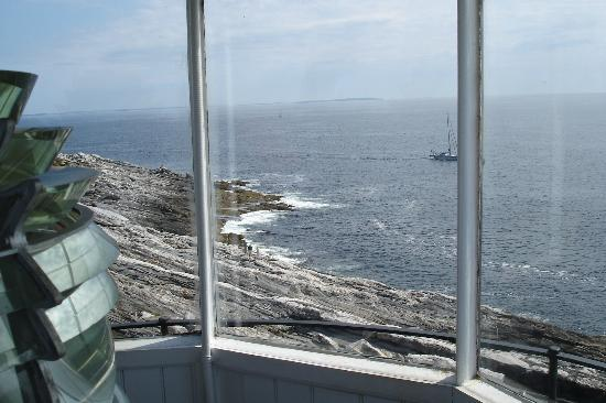 Bradley Inn: The view from Pemaquid Lighthouse