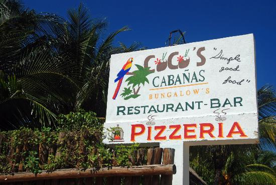 Cocos Cabanas: World Famous