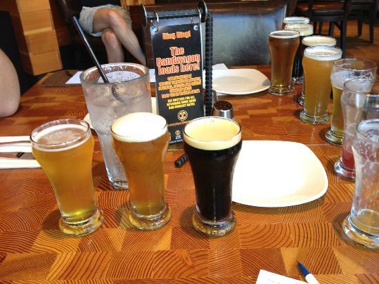 Yaletown Brewing Company: Yaletown's Beer sampler