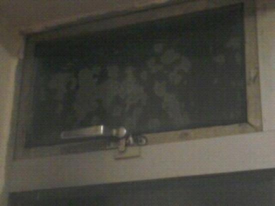 Elstree Inn: mould on window