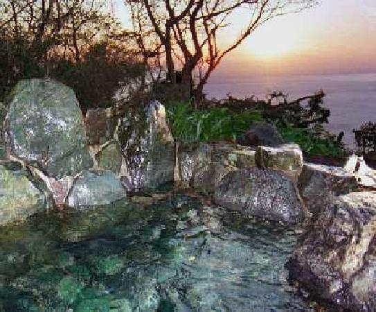 Juan : 夕日を眺める貸切露天風呂