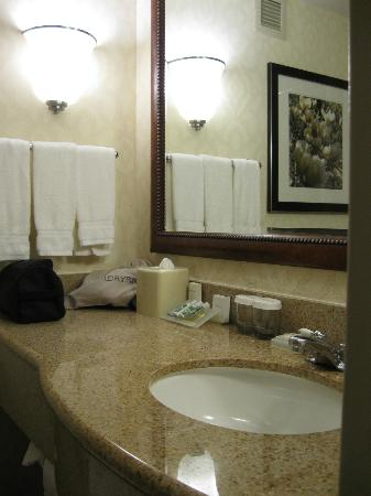Hilton Garden Inn Burlington: Bathroom