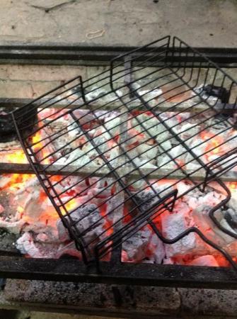Restaurant Beef House: Parrilla a carbon