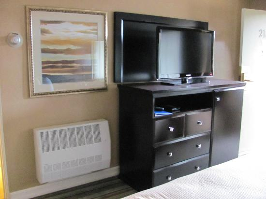 BEST WESTERN Carmel's Town House Lodge: Flat screen TV