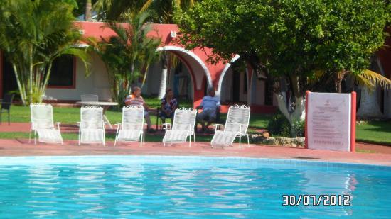 Hotel Hacienda Inn: relajandonos un rato