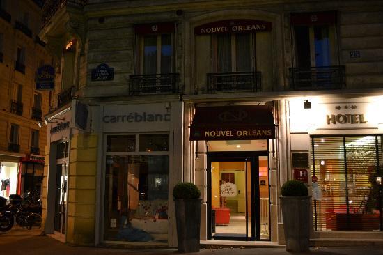 Mancha pared picture of best western le nouvel orleans montparnasse paris - Le nouvel hotel paris ...