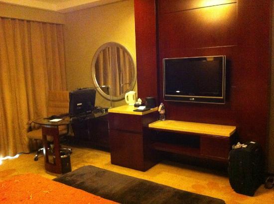 Chongqing Jinjiang Oriental Hotel: equipped with work desk and Hp desktop