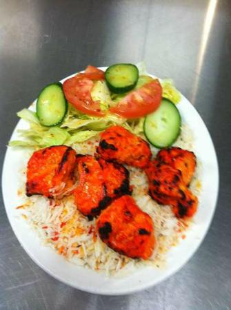 Spice Hut : tandoori chicken tikka