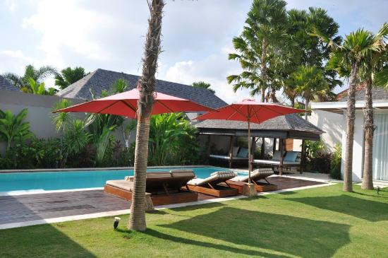 Chandra Luxury Villas Bali : Private Pool
