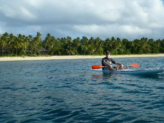 Serenity Beaches Resort: surf ski and kayaks available