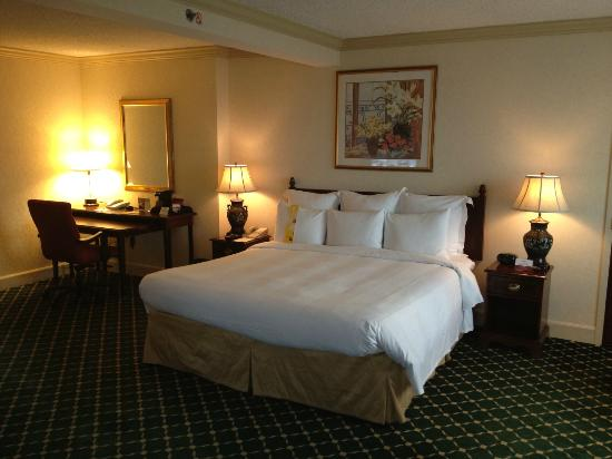 Philadelphia Airport Marriott: Bedroom