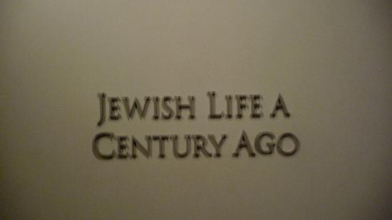 Museum of Jewish Heritage: Part of exibitions