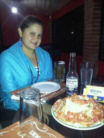 La Casona: Cenando...muy rico