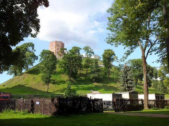 Gediminas Hill and Tower as seen from the Old Town side (46576549)
