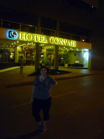 Hotel Convair : frente hotel