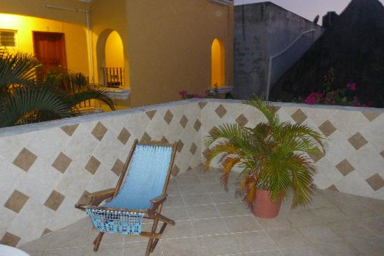 Hotel Villa del Mar: Our own terrace area