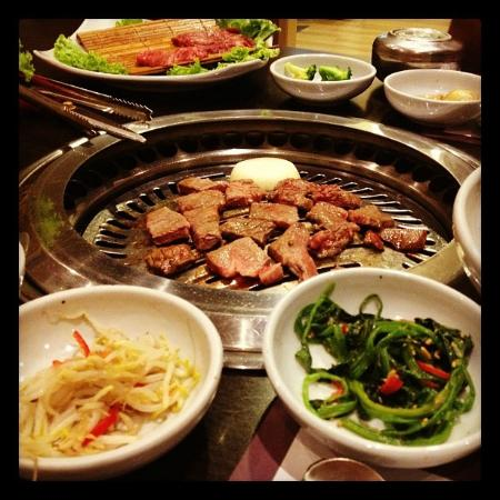 Chang Korean BBQ Restaurant: Korean Barbecue with sides