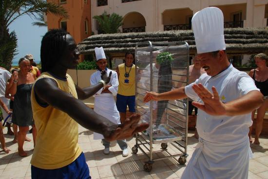 Safira Palms Hotel & Spa: il cuoco e Cucu