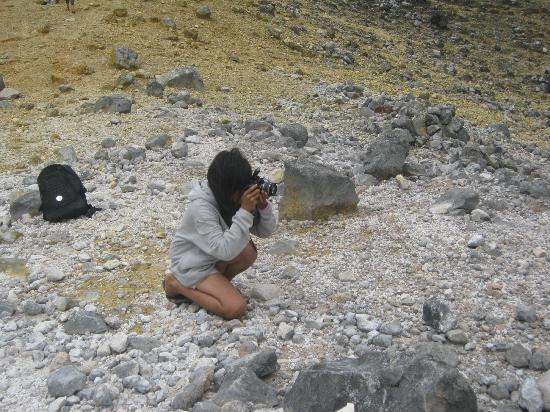 Mount Sibayak: ambil foto