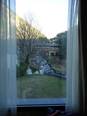 Hotel Palome: Vistas desde la cama