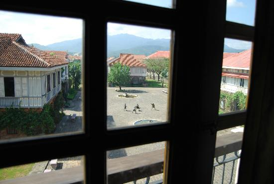 Las Casas Filipinas de Acuzar: view from one of the windows of our room