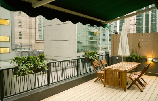 Metro Metro Serviced Apartments: Rooftop Garden