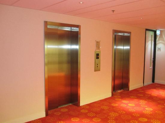 Hilton Garden Inn Leiden: De snelle liften