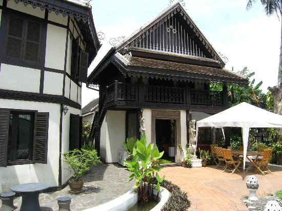 Ramayana Boutique Hotel: Breakfast and dining place