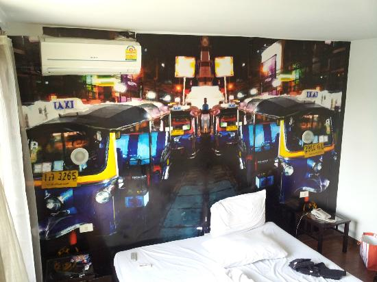 Take a Nap Hotel: Tuk Tuk Theme Room