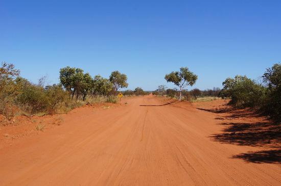 Access road to Port Smith Caravan Park