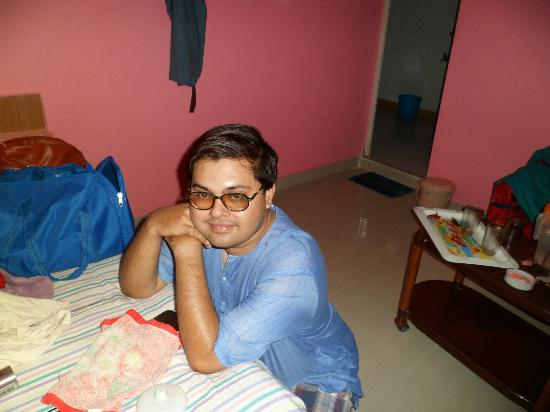 Tajpur Beach Resort: Me inside room
