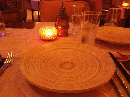 Hoi An : table setting