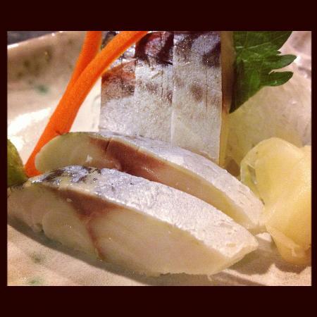 Restaurant Shinano: Saba Sashimi