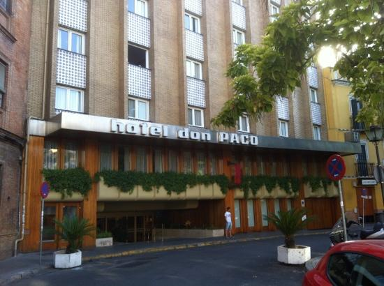 Hotel Don Paco Quiet But Central Location
