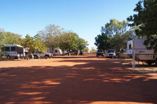 Port Smith Caravan Park caravan site area