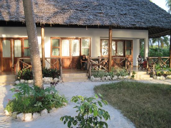 Panga Chumvi Beach Resort: Our bungalow