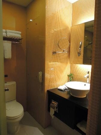CAA Holy Sun Hotel: bathroom (Holy Sun Hotel Shenzhen)