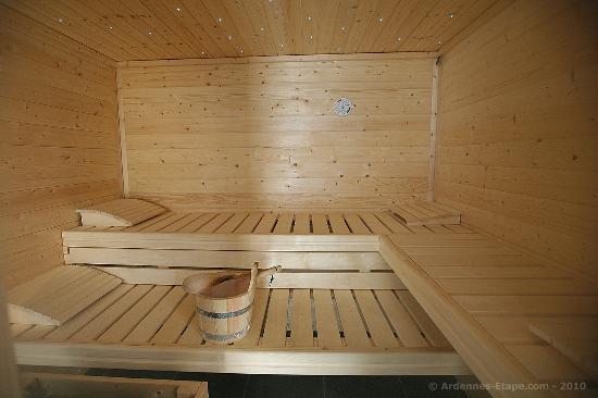 Gite Le Holset : sauna