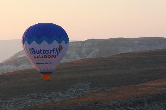Heybe Hotel: Volo in mongolfiera