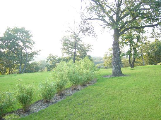 Gite Le Holset : jardin