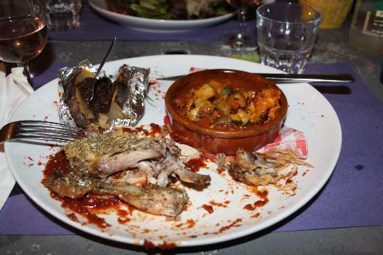 L'Intramuros : Coniglio con patata e terrina di verdure