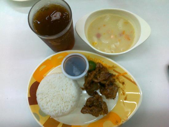 Jollibee: grilled pork tender meal