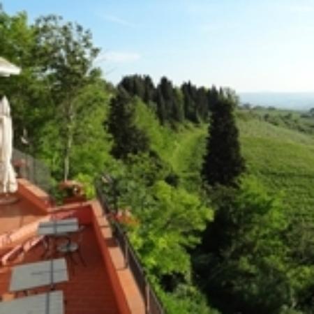 Ristorante C'era Una Volta: la terrazza panoramica