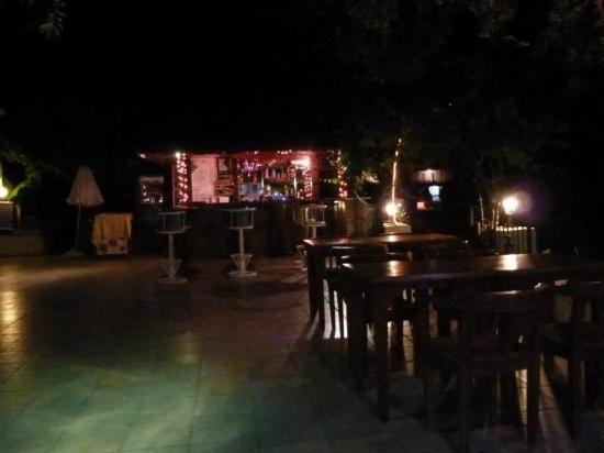 Jasmine Garden Apartments: Bar area