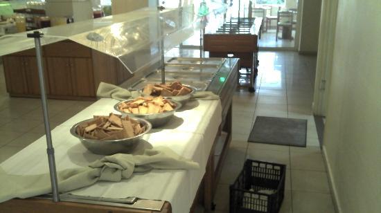 Tsilivi Admiral Hotel: Le dejeuner matinal
