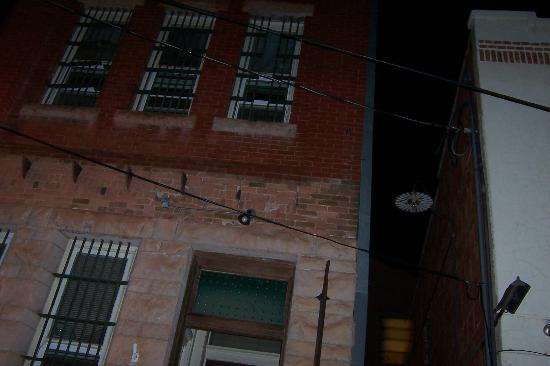 "Old Bisbee Ghost Tours: Old jail house ""orbs top RT/LT"""