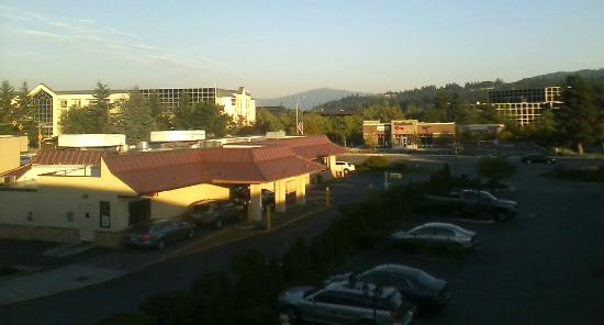 Days Inn Bellevue Seattle: The view from Room 342.