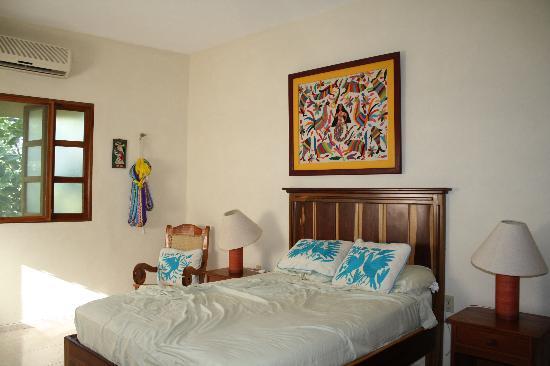 Casa Quetzal: chambre